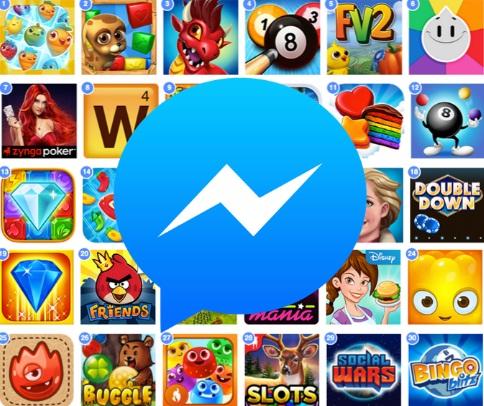 Inilah Caranya Bermain Game Dengan Teman Di Facebook Messenger