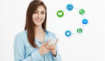 Transaksi Pulsa Lewat Whatsapp Facebook Telegram Aplikasi